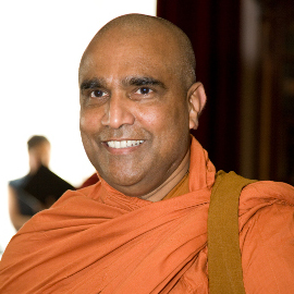 Bhante Dr. Seelawansa Wijayarajapura Maha Thero – Buddhistischer Mönch aus Sri Lanka.